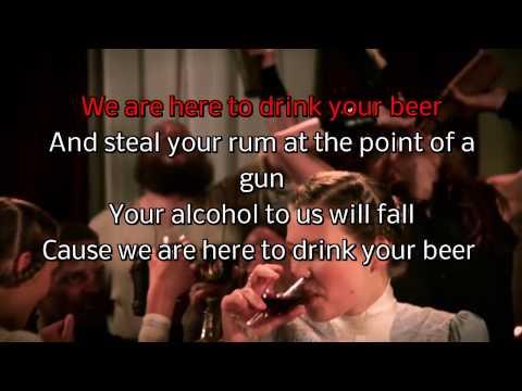 AleStorm   Drink karaoke
