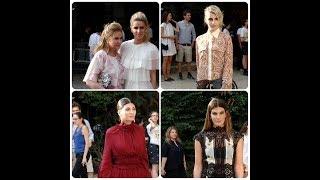 Nicky Hilton, Caroline Daur, Giovanna Battaglia Engelbert and Bianca Brandolini - Giambattista Valli