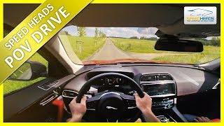 POV Drive - Jaguar F-Pace 2018 (250 PS, 25t) - Onboard Test Drive (pure driving)