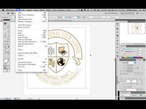 how to export your Illustrator file to JPG