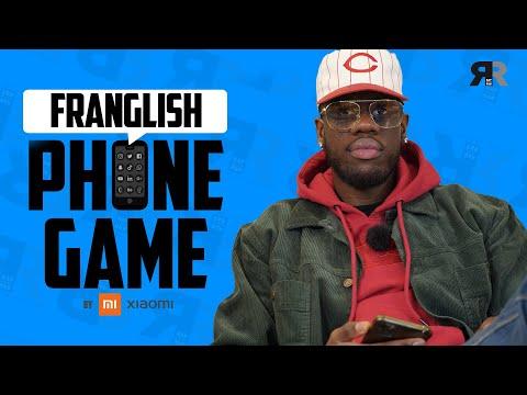 Youtube: FRANGLISH – PHONE GAME: Son 1er téléphone, Drake, ses toplines, Tory Lanez, son emoji…