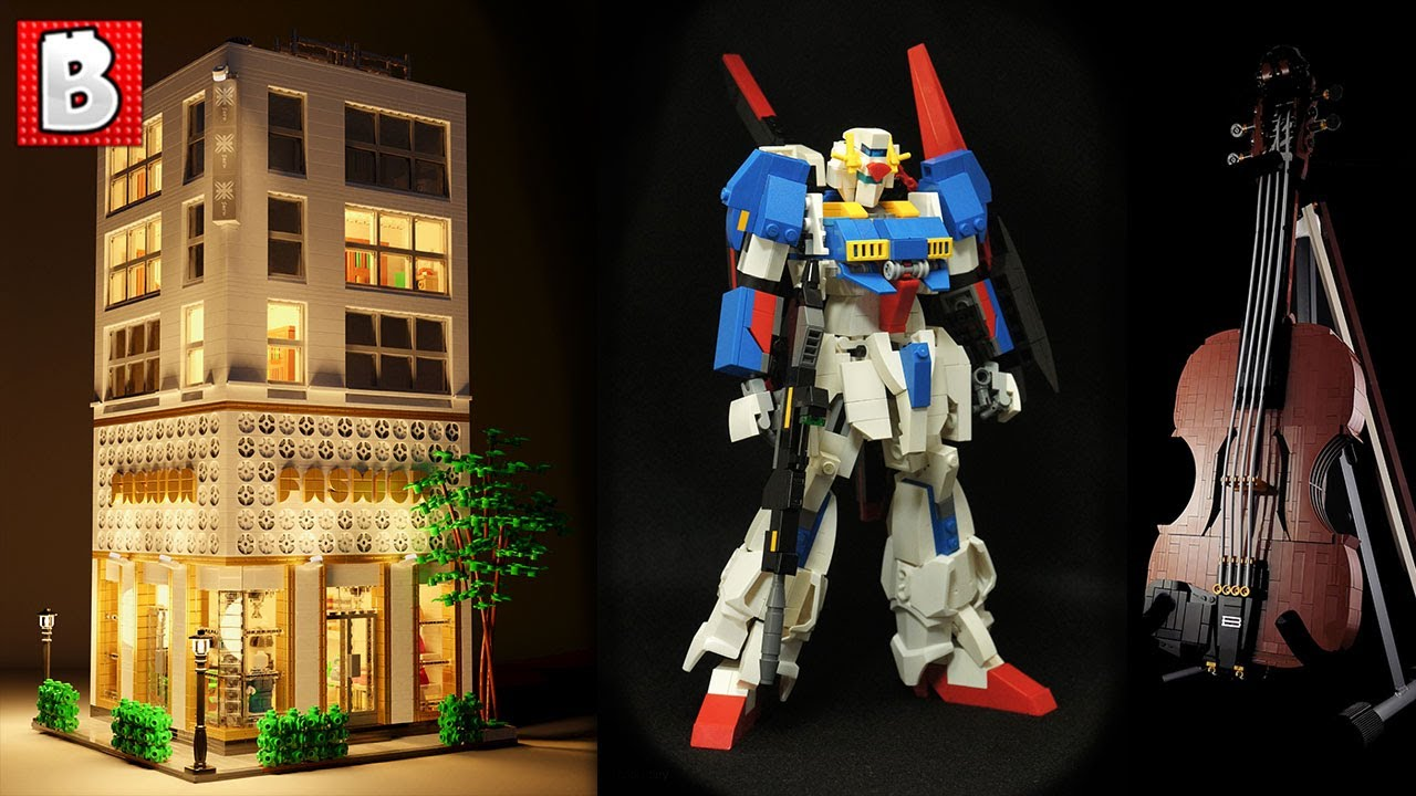 LEGO Fashion Store, Gundam, Violin and MORE | TOP 10 MOCs