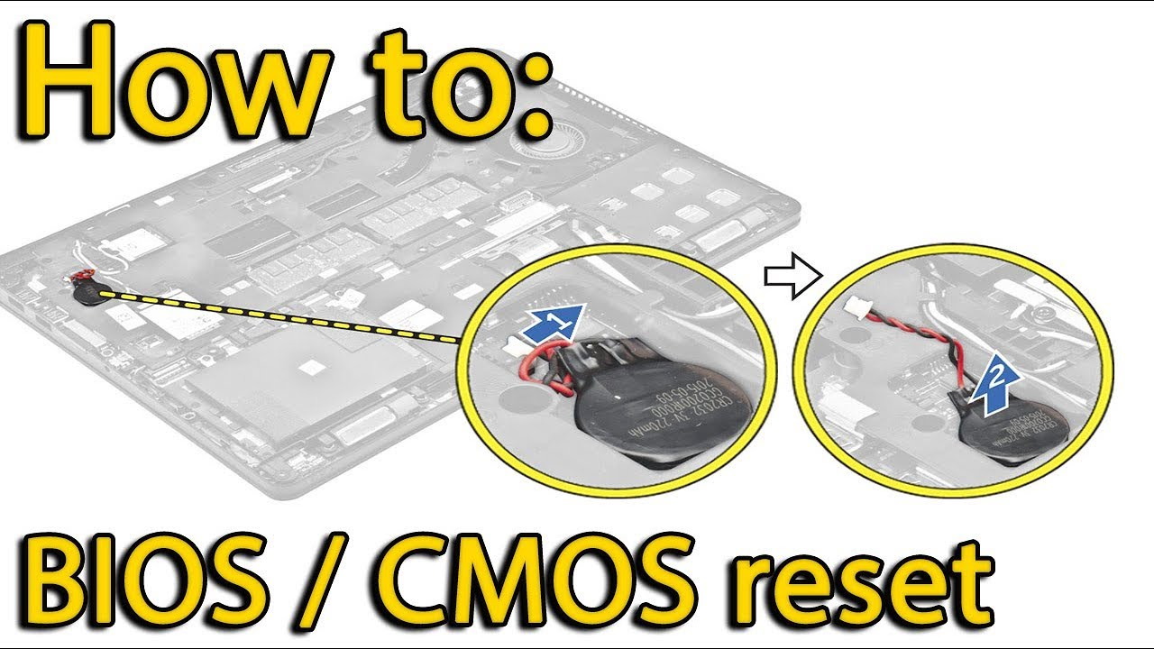 Reset BIOS settings Lenovo 310-15 | CMOS battery replacement