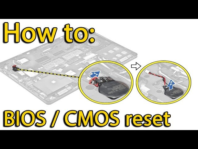 Reset BIOS settings Lenovo 310-15 | CMOS battery replacement