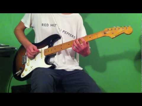 Red Hot Chili Peppers - Mellowship Slinky In B Major - Guitar Cover (HD) mp3