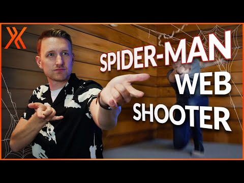 How to create the Spider-Man web shooter effect
