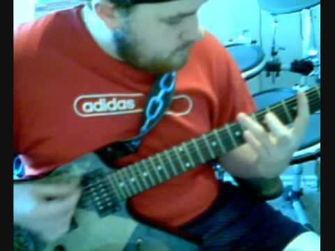 Stone Sour - Blue Study on guitar