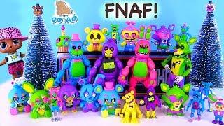 ФНАФ Новинка FNAF BLACKLICHT 2018 года и Лол в мультике Видео для детей Игрушки c My Toys Potap