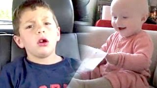 David After Dentist VS Laughing Baby - Classic Viral Videos