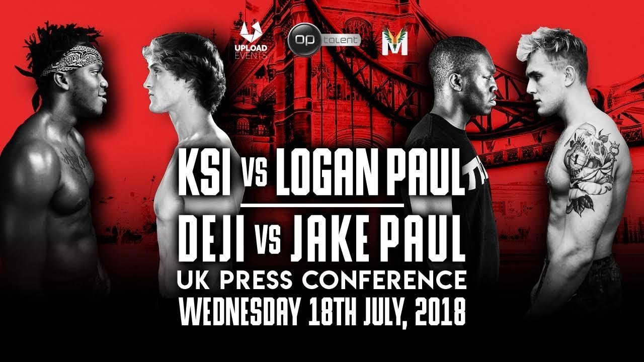 KSI VS LOGAN PAUL UK PRESS CONFERENCE (OFFICIAL)