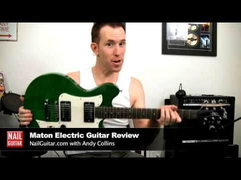 maton-ms503-mastersound-electric-guitar-demo-&-review