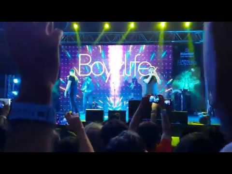 "Boyzlife performing ""Words"" Live @ Fly Music Festival Mumbai"