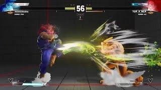 Street Fighter V Daigo vs. Tokido!