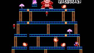 Donkey Kong - NES Remix Netplay Tournament: Davideo7 (P1) vs SUX2BU (P2) - User video