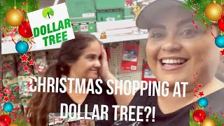 CHRISTMAS SHOP WITH ME *DOLLAR TREE* {GABRIELLAGLAMOUR}