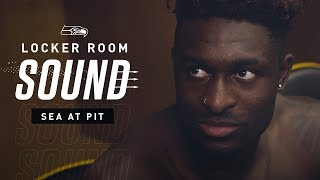 Locker Room Sound at Steelers: DK Metcalf's First NFL Touchdown | 2019 Seattle Seahawks