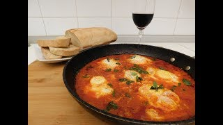 Eggs in Purgatory 😋 Ancient Neapolitan recipe - Le ricette di zia Franca