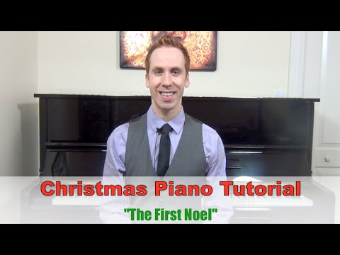 Weihnachtslieder Piano Tutorial.Free Christmas Piano Tutorial First Noel