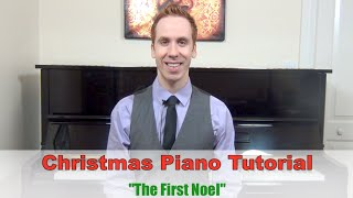Christmas Piano Tutorial - The First Noel