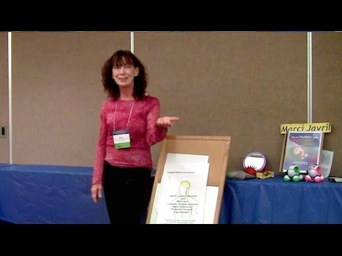 Brain Cleanse Massage Intro at Expressive Therapies Summit LA 2017