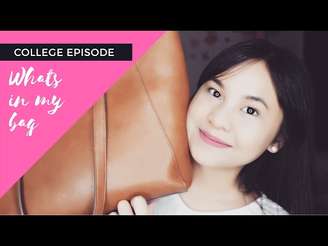 College Episode • 3 • [ What's In My Campus Bag ]