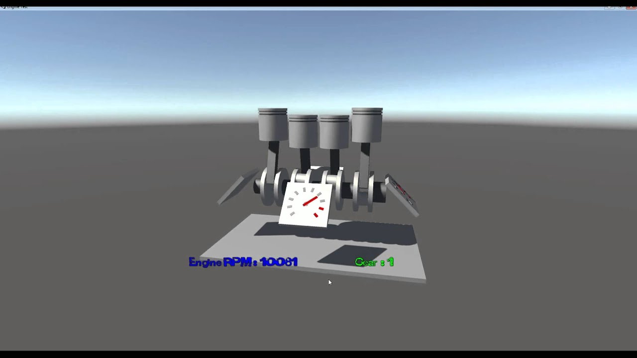 Can Unity3D Physics hold a 16,000 RPM Engine