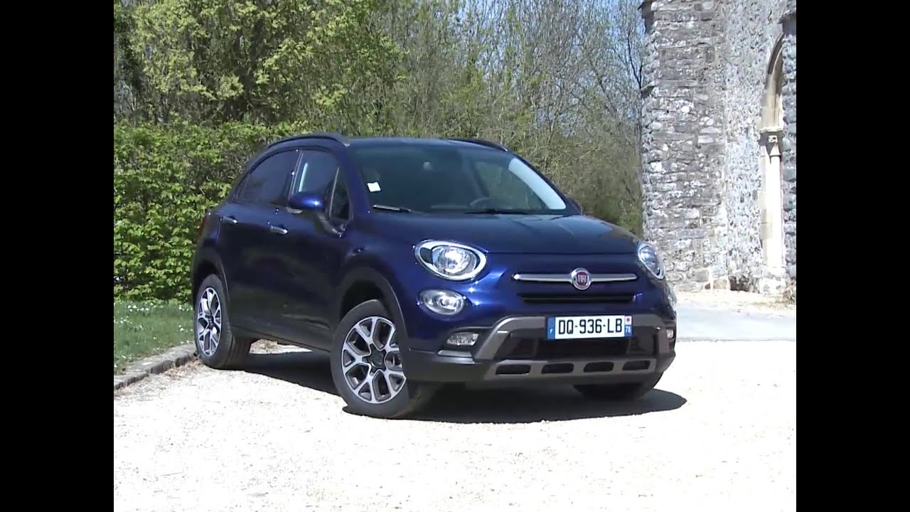 essai fiat 500x 2 0 multijet 140 4x4 at9 cross 2015 youtube. Black Bedroom Furniture Sets. Home Design Ideas