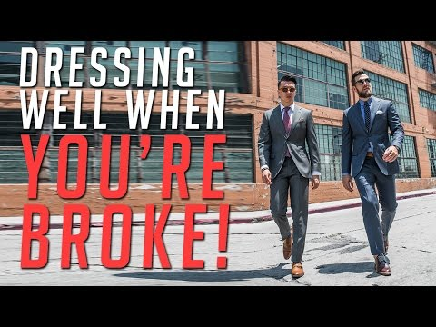 Stylish and Broke? || Suiting Up On a Budget || Men's Fashion Advice || Gent's Lounge