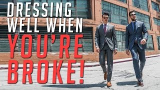 Stylish and Broke? || Suiting Up On a Budget || Men