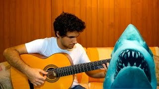 Jaws Theme Song - Fingerstyle Guitar (Marcos Kaiser) #39