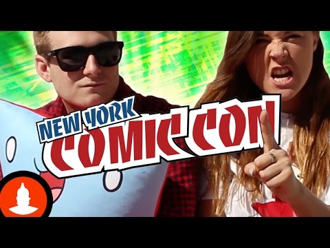 Cartoon Hangover is Coming to  New York Comic Con 2014! - NYCC 2014