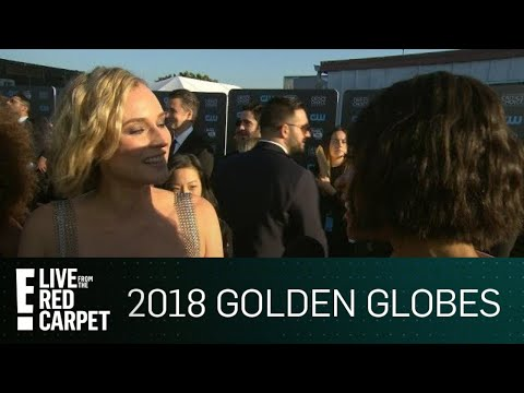 Diane Kruger Was Surprised by 2018 Golden Globes Win  E! Live from the Red Carpet