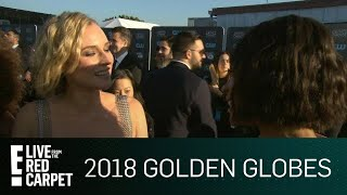 Diane Kruger Was Surprised by 2018 Golden Globes Win | E! Live from the Red Carpet