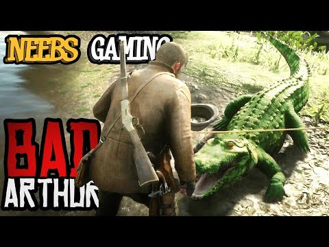 ALLIGATOR ATTACK - Bad Arthur - (Red Dead Redemption 2 Cinematic Series) thumbnail