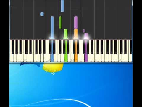 American Pie [Synthesia Piano] [Piano Tutorial Synthesia]