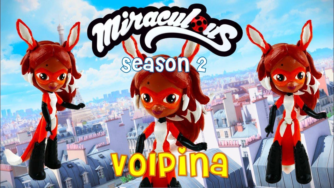 Alya Rena Rouge Miraculous Ladybug Season 2 Toy Custom