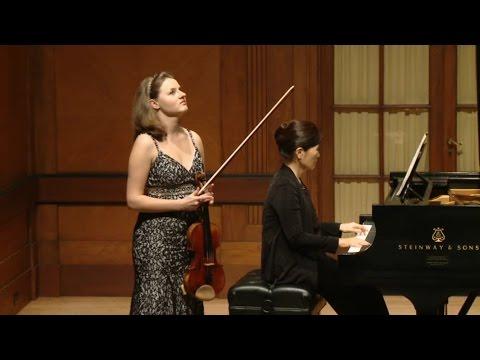 Ania Filochowska Plays Beethoven Violin Concerto
