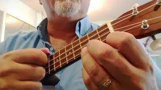 More uke strumming instructions, lava song