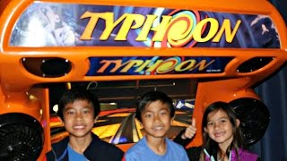 Typhoon Mad Wave Motion Theater Deluxe 3D Simulator Arcade Ride Game: 2G Of Crazy Acceleration!
