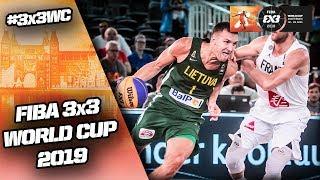 France v Lithuania | Men's Full Game | FIBA 3x3 World Cup 2019