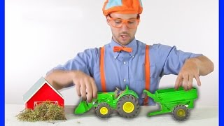 Tractors for Children | Blippi Toys - TRACTOR SONG