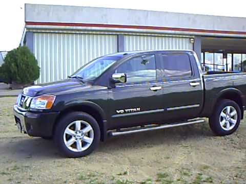 Beautiful 2008 Nissan Titan LE Crew Cab