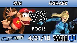 Switchfest A2 Slither2Hunter Diddy Kong VS GShark Zero Suit Samus Smash 4 Pools