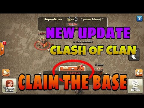 CLASH OF CLAN NEW UPDATE OF CLAIM THE BASE FOR ATTACK... WAR STRATEGY.HOW TO CLAIM THE TARGET