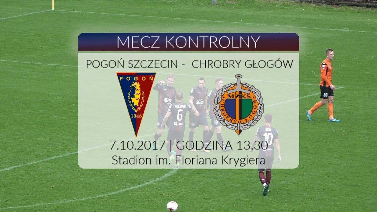 Sparing: Pogoń Szczecin – Chrobry Głogów 3:0 (2:0) 7.10.2017 (SKRÓT)