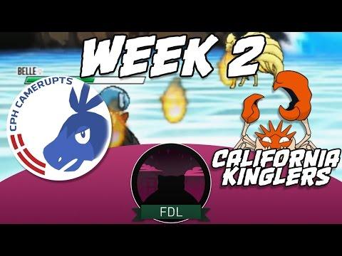 Fantasy Draft League S1│Week 2│Copenhagen Camerupts VS California Kinglers