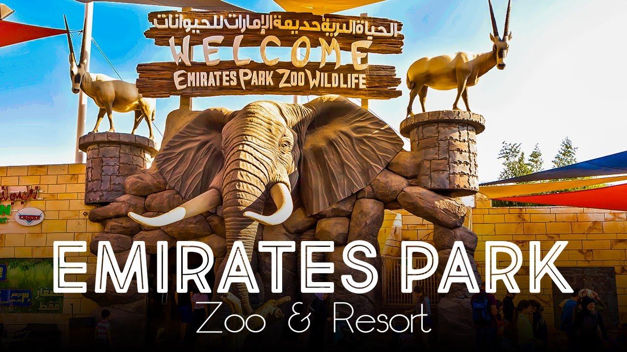 Emirates Park Zoo & Resort - Abu Dhabi | Over 1,800 Wildlife From Across  The Globe - YouTube