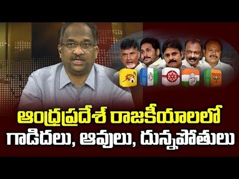 ఆంధ్రప్రదేశ్ రాజకీయాలలో 'గాడిదలు, ఆవులు, దున్నపోతులు'||Asses, Cows, Oxen & Andhra Politics||