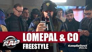 Lomepal - Freestyle avec Fixpen Sill, Di Meh, Limsa & Tonio MC #PlanèteRap