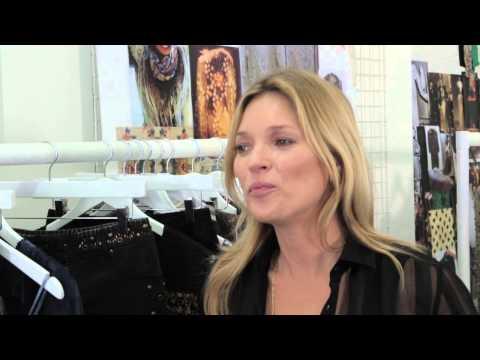 Sneak Peek: Kate Moss Behind the Scenes